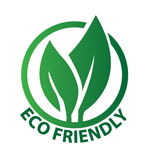 we are green and eco friendly