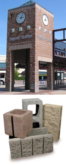 Willamette Graystone Better Selection Family Owned Products Concrete Blocks